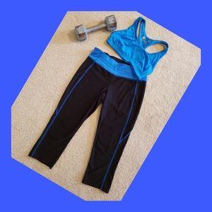 Sports Bra & Spandex Workout Capri's